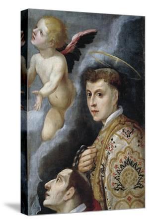Saint Leonard, Sanctuary of Santa Liberata, Cerreto Guidi, Tuscany, Italy--Stretched Canvas Print