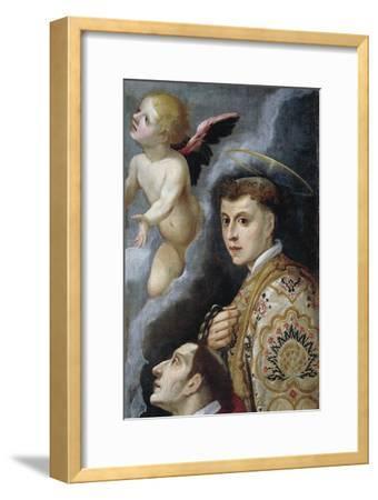 Saint Leonard, Sanctuary of Santa Liberata, Cerreto Guidi, Tuscany, Italy--Framed Giclee Print