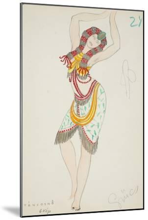 Tancosno, 1928--Mounted Giclee Print