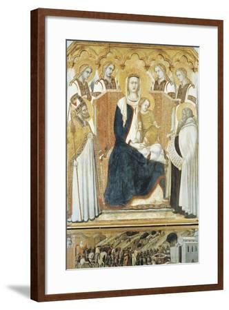 Italy, Siena, Madonna with Angels and Saints--Framed Giclee Print