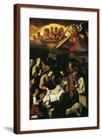Adoration of Shepherds, 1638--Framed Giclee Print