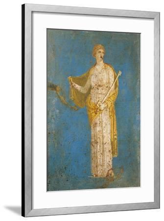 Fresco Portraying Medea, from Stabiae, Italy--Framed Giclee Print