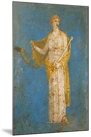 Fresco Portraying Medea, from Stabiae, Italy--Mounted Giclee Print