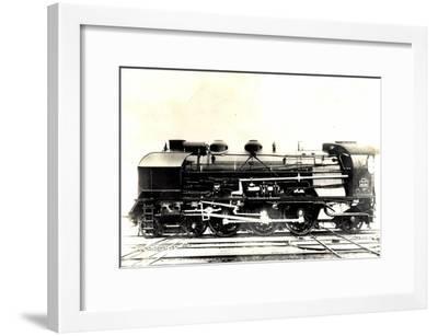 Eisenbahn, Frankreich, Dampflok, P.L.M, Type Pacific--Framed Giclee Print
