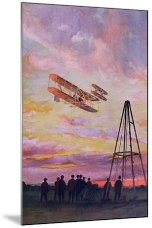 Wilbur Wright--Mounted Giclee Print