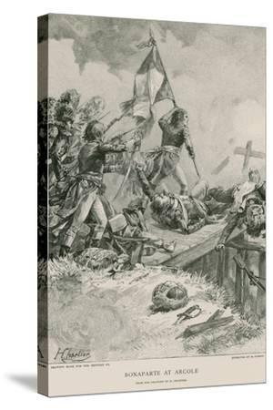 Bonaparte at Arcole--Stretched Canvas Print
