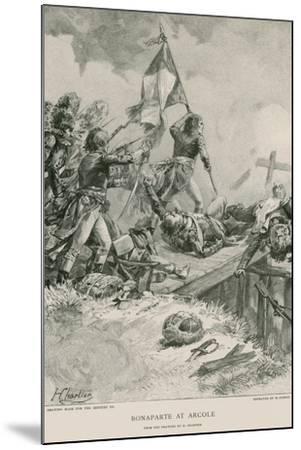 Bonaparte at Arcole--Mounted Giclee Print