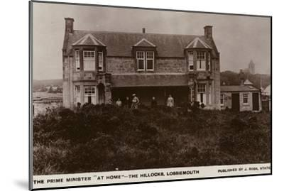 The Hillocks, Lossiemouth--Mounted Photographic Print
