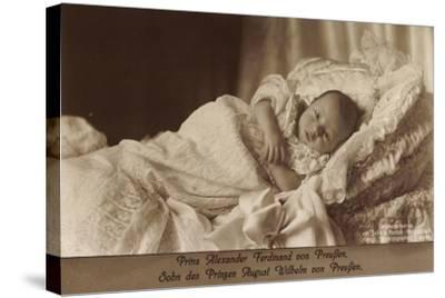 Prinz Alexander Ferdinand Von Preußen Als Baby--Stretched Canvas Print