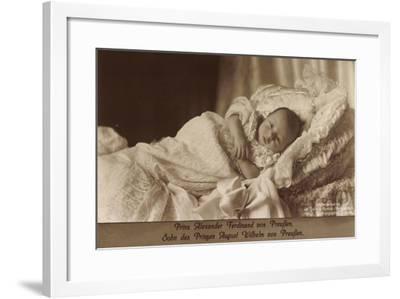Prinz Alexander Ferdinand Von Preußen Als Baby--Framed Giclee Print