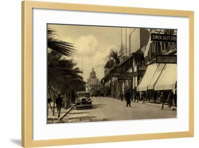 Sultan Hussein Quay, Port Said, Egypt--Framed Photographic Print