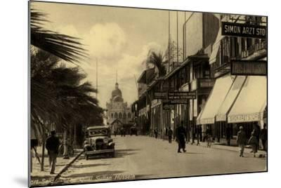 Sultan Hussein Quay, Port Said, Egypt--Mounted Photographic Print