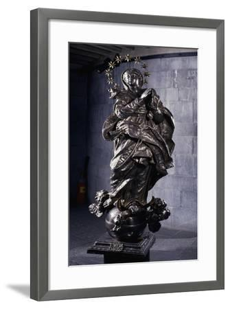 Silver Statue of Immaculate Conception, Treasury of St Lawrence--Framed Giclee Print