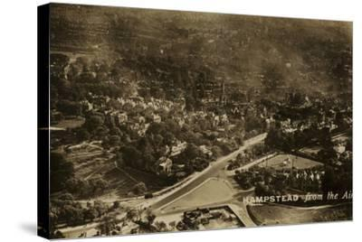 Hampstead from the Air--Stretched Canvas Print