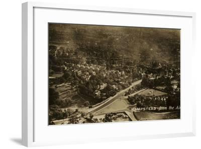 Hampstead from the Air--Framed Photographic Print