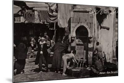 Rue Zarablie, Damascus, Syria--Mounted Photographic Print