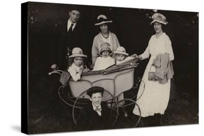 Family Portrait, 1920--Stretched Canvas Print