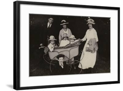 Family Portrait, 1920--Framed Photographic Print