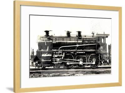 Locomotive Francaise, P.O. Midi, Machine No 4203--Framed Giclee Print