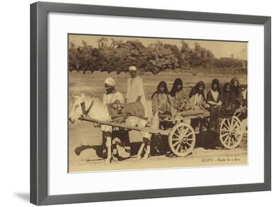 Egypt - Ready for a Drive--Framed Photographic Print