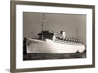 Kdf Elektroschiff Robert Ley, Beiboote, 1939--Framed Giclee Print