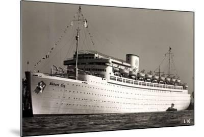Kdf Elektroschiff Robert Ley, Beiboote, 1939--Mounted Giclee Print