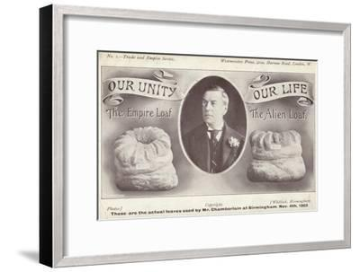 The Empire Loaf and the Alien Loaf, C1903--Framed Giclee Print