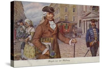 Portrait of Joseph Haydn--Stretched Canvas Print