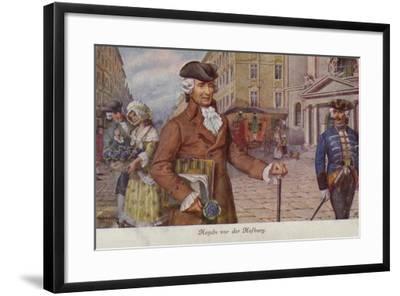 Portrait of Joseph Haydn--Framed Giclee Print