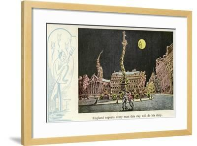 England Expects Every Man This Day Will Do His Duty--Framed Giclee Print