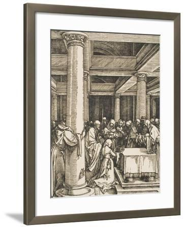 The Presentation of Christ in the Temple-Albrecht D?rer-Framed Giclee Print