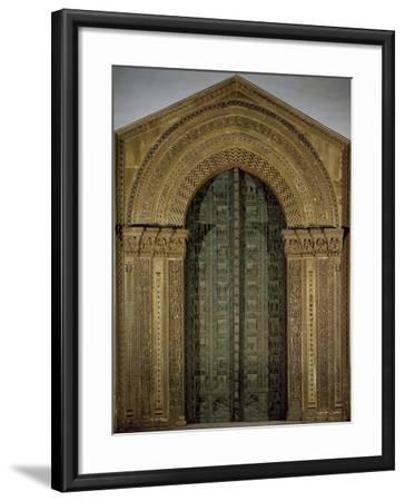 Bronze Door, 1185-1186-Bonanno Pisano-Framed Giclee Print