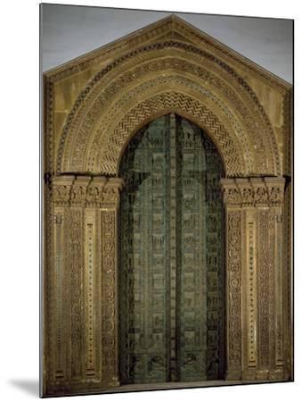 Bronze Door, 1185-1186-Bonanno Pisano-Mounted Giclee Print