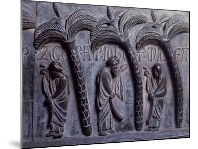 Prophets in Paradise of Palms, Bronze Panels from St Ranieri's Door-Bonanno Pisano-Mounted Giclee Print