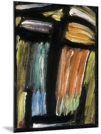 Meditation, 1936-Alexej Von Jawlensky-Mounted Giclee Print