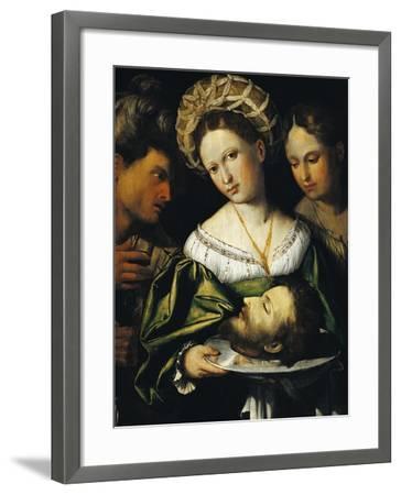 Salome, 1530-Callisto Piazza-Framed Giclee Print