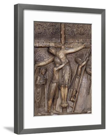 Descent from Cross, 1178-Benedetto Antelami-Framed Giclee Print
