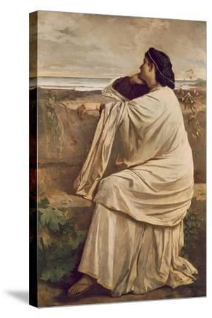 Iphigenia-Anselm Feuerbach-Stretched Canvas Print