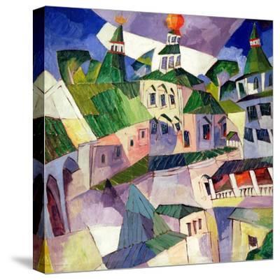 Monastery, 1926-Aristarkh Vasilievic Lentulov-Stretched Canvas Print