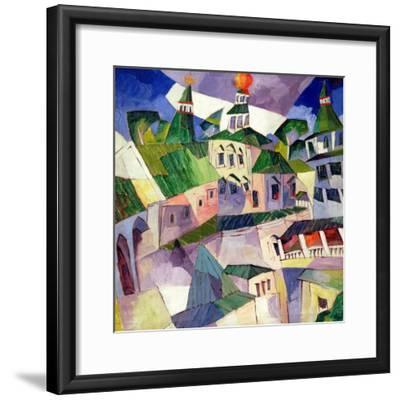 Monastery, 1926-Aristarkh Vasilievic Lentulov-Framed Giclee Print