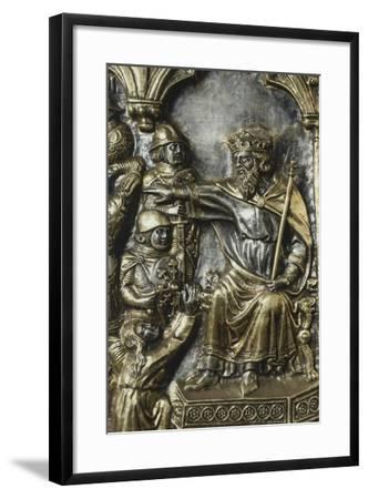 Slaughter of Innocents, Panel on Frontal of Altar of St James-Andrea Di Jacopo D'Ognabene-Framed Giclee Print