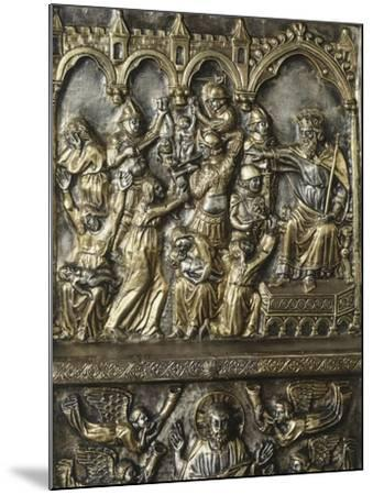 Slaughter of Innocents, Panel on Frontal of Altar of St James-Andrea Di Jacopo D'Ognabene-Mounted Giclee Print