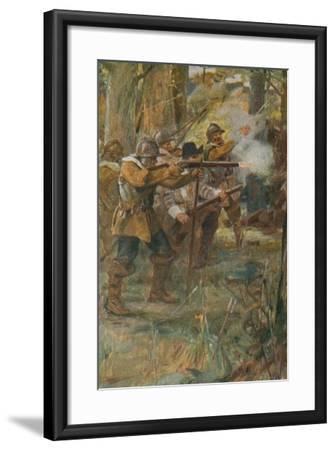 The Courtship of Miles Standish-Arthur A^ Dixon-Framed Giclee Print