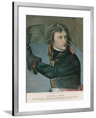 Bonaparte at Arcole-Baron Antoine Jean Gros-Framed Giclee Print