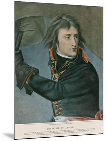 Bonaparte at Arcole-Baron Antoine Jean Gros-Mounted Giclee Print
