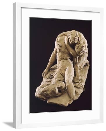 Venus and Adonis-Antonio Canova-Framed Giclee Print