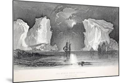 Icebergs Near Kosoak, Life Boat Cove-Elisha Kane-Mounted Giclee Print