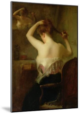 Woman Arranging Her Hair, 1903-Etienne Tournes-Mounted Giclee Print