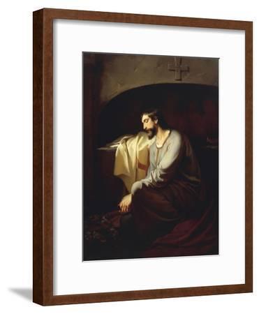 A Neophyte, 1851-Domenico Morelli-Framed Giclee Print