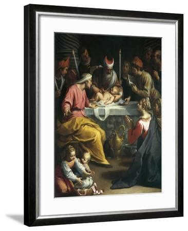 Circumcision of Christ-Claudio Ridolfi-Framed Giclee Print